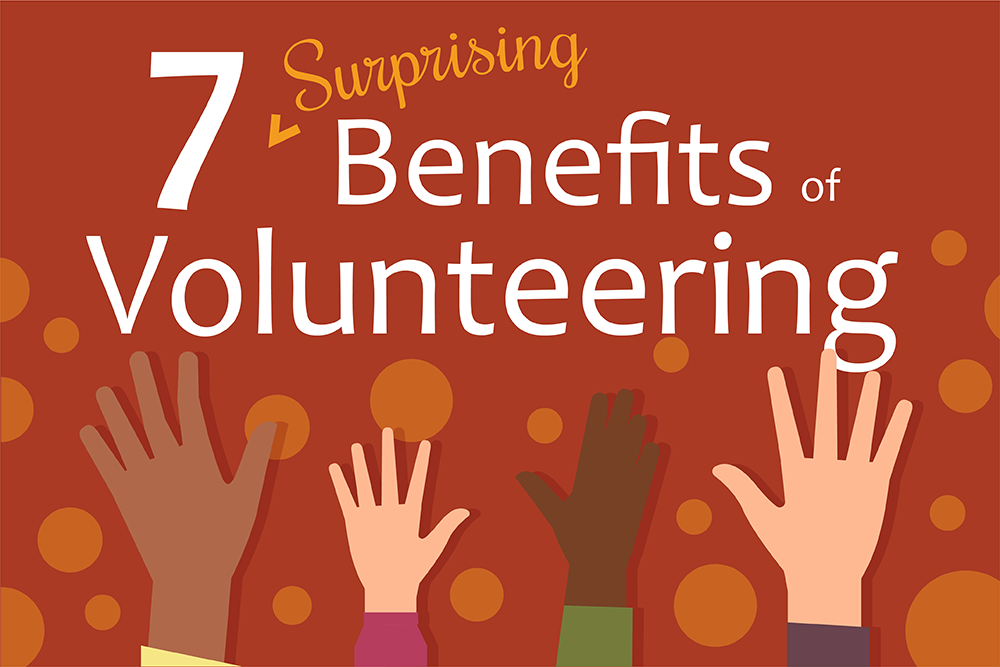 Volunteering is good for you!