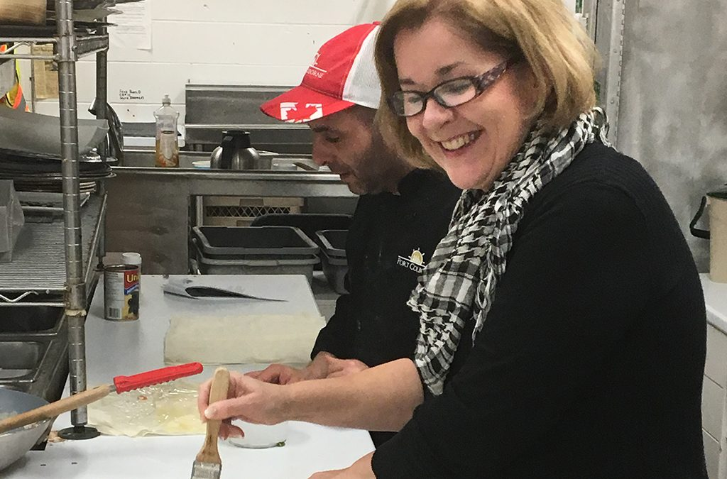 Holiday baking fun with Chef Lou Caetano